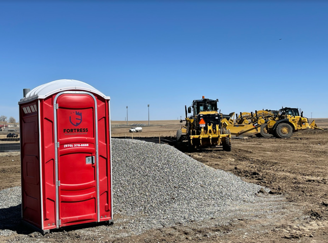 Porta Potty And Dumpster Rentals In The Colorado And Wyoming Area. Fortress Development Solutions Delivers And Maintains Your Porta Potty And Dumpsters.